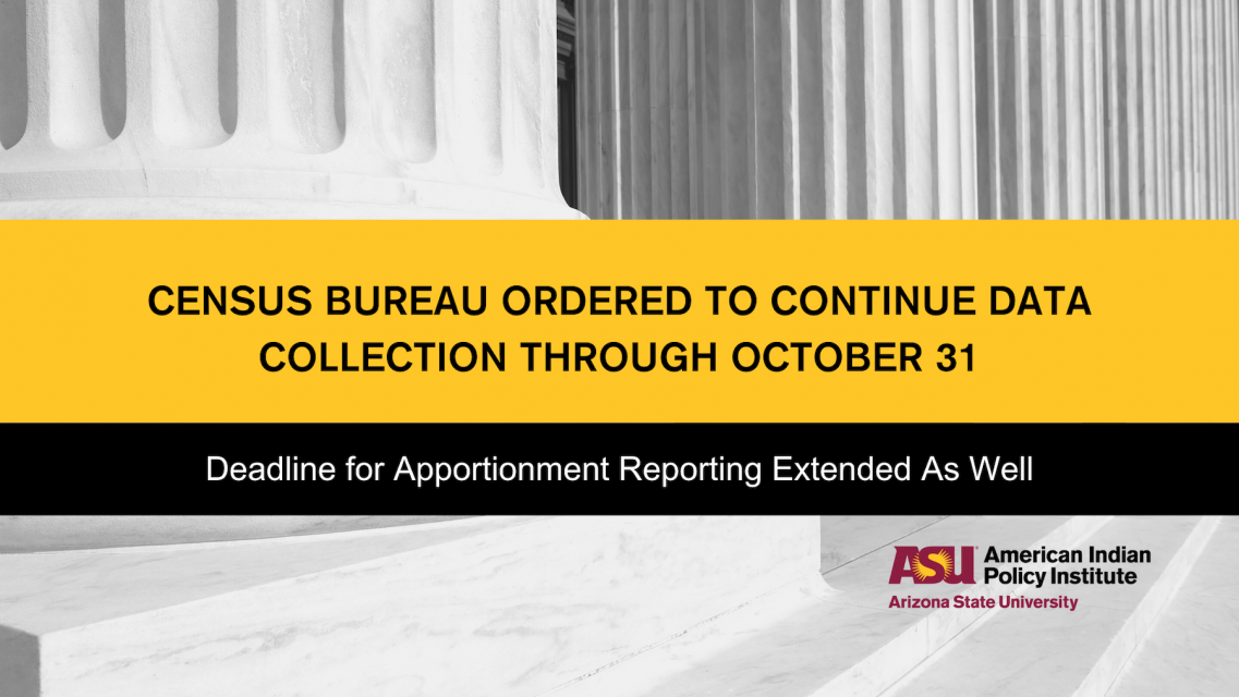 Census Bureau Deadlines Extended - blog