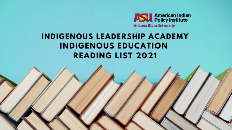 Indigenous Education Reading List 2021