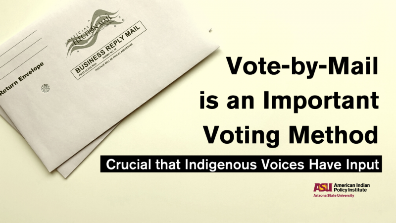 Vote-by-Mail is an Important Voting Method