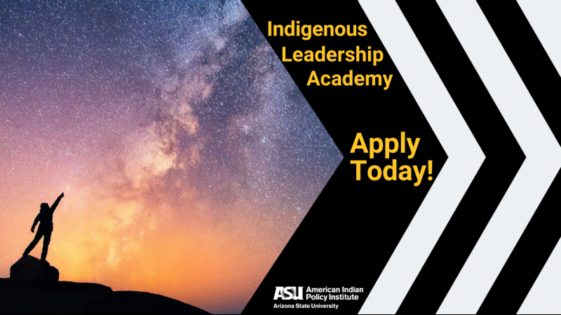 Indigenous Leadership Academy Application is Live!!